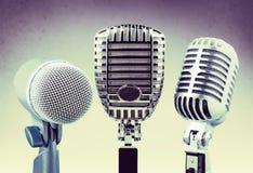 Microphones Stock Photography