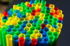 Microplástico nos oceanos fotografia de stock royalty free