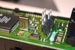 microplaqueta Imagem de Stock