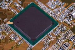 microplaqueta Imagens de Stock
