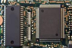 Microplaqueta Fotografia de Stock