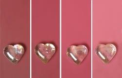Microplaqueta cor-de-rosa da pintura Fotos de Stock
