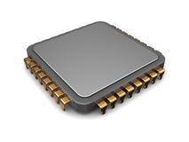 microplaqueta 3d Fotografia de Stock Royalty Free
