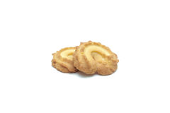 Microplaqueta da cookie e cookie de açúcar Fotografia de Stock