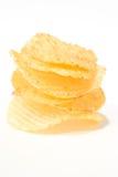 Microplaqueta de batata Fotos de Stock