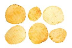 Microplaqueta de batata Foto de Stock Royalty Free