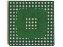 Microplaqueta de BGA Imagens de Stock