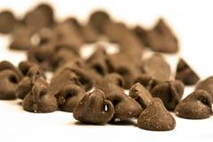Microplaqueta de chocolate Imagens de Stock