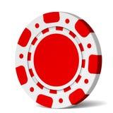 Microplaqueta de póquer do vetor Imagens de Stock Royalty Free