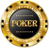 Microplaqueta de pôquer ilustração royalty free