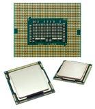Microplaqueta de processador Imagem de Stock