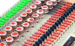 Microplaqueta de processador Fotografia de Stock
