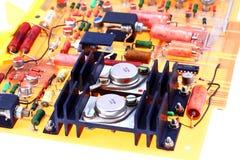 Microplaqueta de processador Imagens de Stock