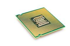 Microplaqueta de processador Imagem de Stock Royalty Free