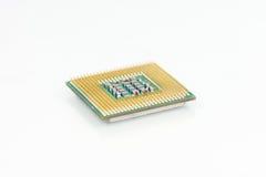 Microplaqueta de processador do computador imagem de stock royalty free