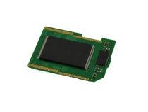 Microplaqueta do cartão do SD Foto de Stock Royalty Free