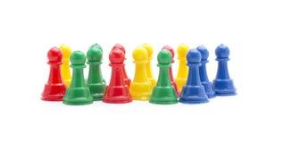 Microplaqueta do jogo das cores Imagem de Stock
