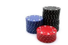 Microplaqueta do póquer Fotos de Stock Royalty Free