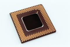 Microplaqueta do processador central imagens de stock