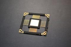 Microplaqueta do processador central Imagem de Stock
