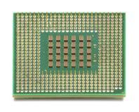 Microplaqueta do processador central do computador Imagens de Stock Royalty Free