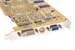 Microplaqueta do vídeo do computador Fotos de Stock Royalty Free
