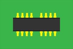 Microplaqueta eletrônica Ilustração Royalty Free