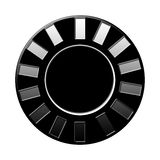 Microplaqueta isolada Imagem de Stock Royalty Free