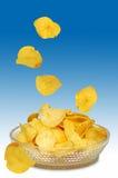 Microplaquetas 1 fotografia de stock royalty free