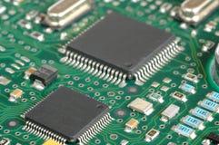 Microplaquetas imagens de stock
