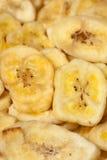 Microplaquetas da banana Fotos de Stock Royalty Free