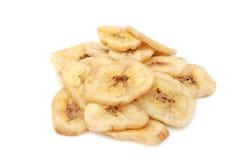 Microplaquetas da banana Fotografia de Stock Royalty Free
