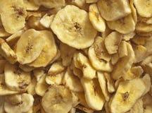 Microplaquetas da banana Imagem de Stock