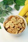 Microplaquetas da banana Imagens de Stock Royalty Free