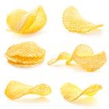 Microplaquetas de batata foto de stock royalty free