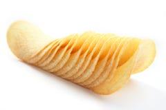 Microplaquetas de batata fotos de stock