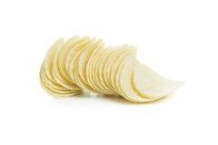 Microplaquetas de batata Imagem de Stock Royalty Free