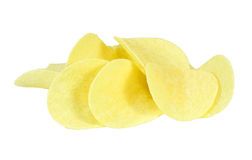 Microplaquetas de batata Imagens de Stock