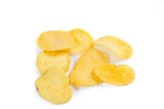 Microplaquetas de batata Imagem de Stock