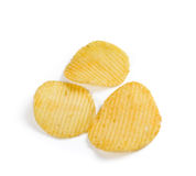Microplaquetas de batata Imagens de Stock Royalty Free