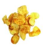 Microplaquetas de batata picantes Fotos de Stock Royalty Free