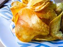 Microplaquetas de batatas Fotos de Stock