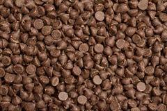 Microplaquetas de chocolate Fotos de Stock