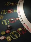 Microplaquetas de jogo fotos de stock