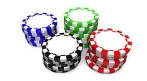 Microplaquetas de Las Vegas Fotografia de Stock Royalty Free