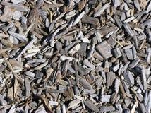 Microplaquetas de madeira imagens de stock