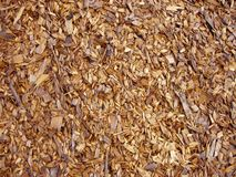 Microplaquetas de madeira - lasca Foto de Stock