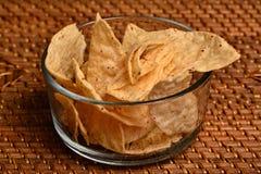 Microplaquetas de milho Fotos de Stock