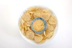 Microplaquetas de milho Foto de Stock