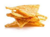 Microplaquetas de milho salgadas Imagens de Stock Royalty Free